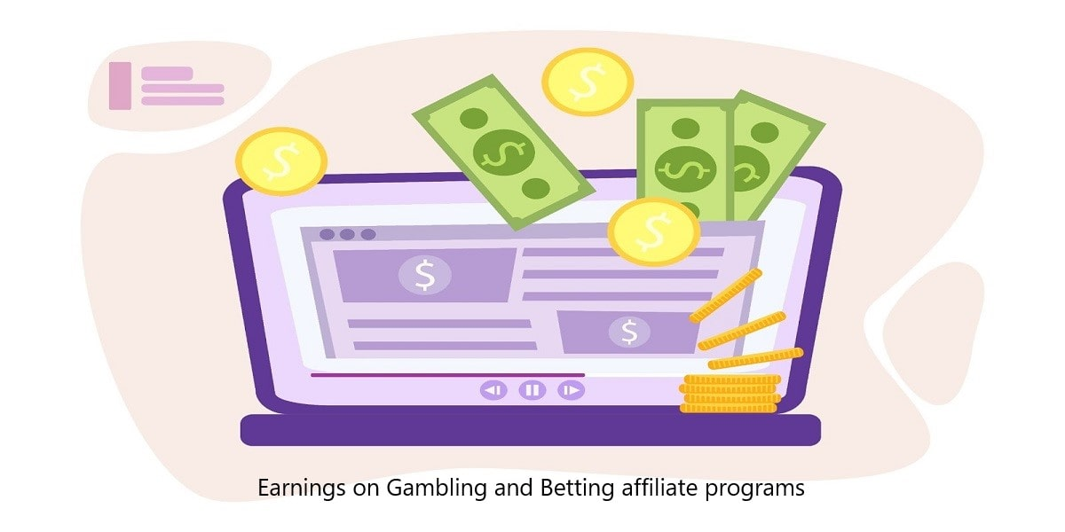 How to make money on gambling and betting affiliate programs
