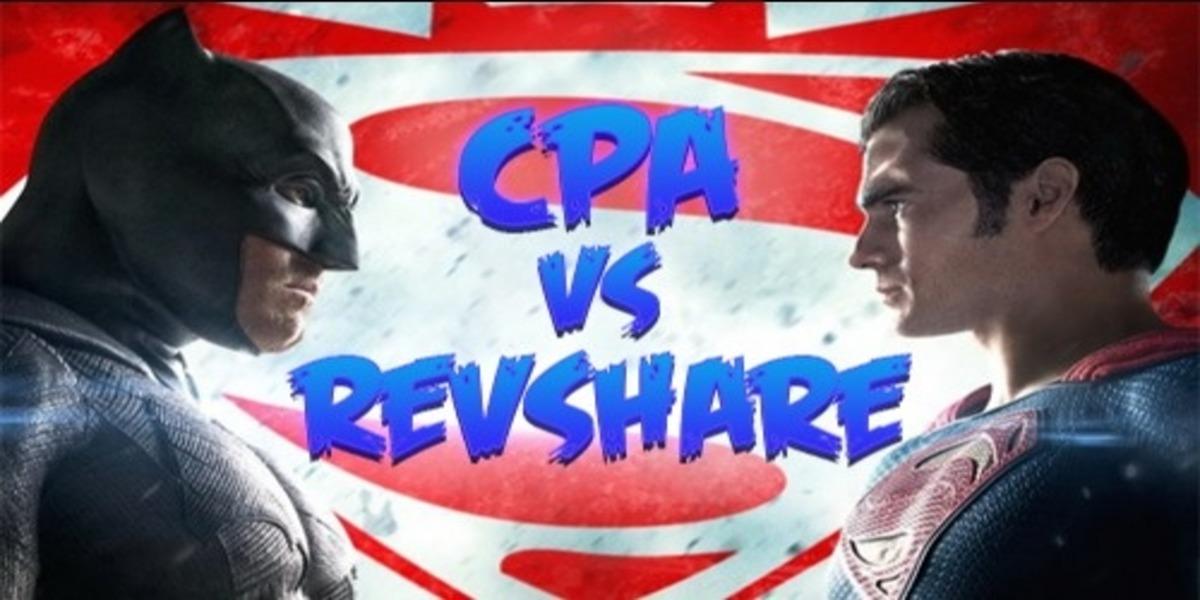 Сравнение моделей оплаты CPA и Revshare